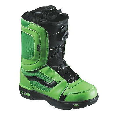 Vans Off The Wall Mens ENCORE Snowboard Boots - Green/Black - RRP £174.99