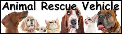Animal Rescue Vehicle Magnet | Show Your Support of Animal Rescue | AADR