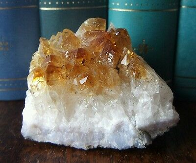 Citrine Cluster Crystal Gemstone Yellow Natural Genuine 91g