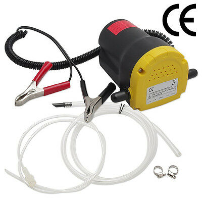 Hot!!! 12V 5A Oil Diesel Fluid Extractor Electric Transfer Scavenge Suction Pump