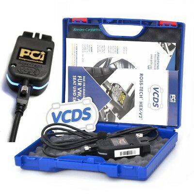 VCDS HEX-V2 Ross-Tech Basiskit Professional Unlimited VIN Vollversion Deutsch