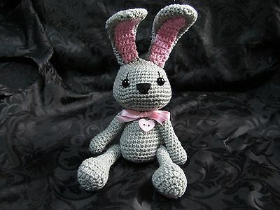 Amigurumi Crochet Scrappy Rabbit - Soft Toy - Personalised Item