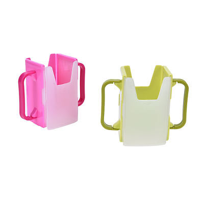 New Baby Kids Adjustable Juice Drinks Bottle Box Case Drinking Cup Holder Clip