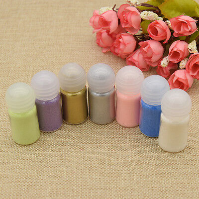 10ml Metallic Embossing Powder DIY Heating Art Painting Craft Decor Supplies New