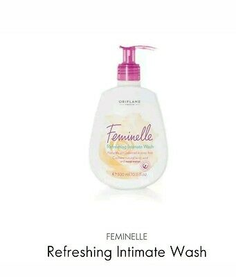 2×Oriflame Feminelle Refreshing Intimate Wash (Soap Free), 2×300ml New