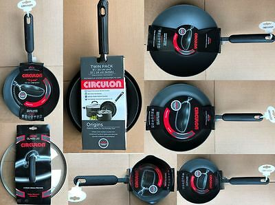 Circulon Cookware - Pot Pan Skillet Lid Milkpan Stirfry Frying - various sizes