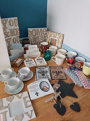 job lot wholesale shabby chic wooden signs decorative items