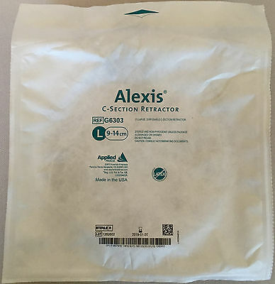 Applied Medical Alexis wound Protector/Retractors, G6303, size Lrg. (Exp. 2019)