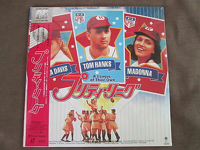 Sealed MADONNA A League of Their Own JAPAN Laser Disc LD w/OBI SRLP5036~7 Free S