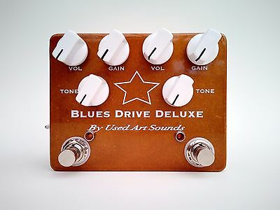 UAS BluesDrive Deluxe Hand Wired Overdrive Pedal... Made In Australia