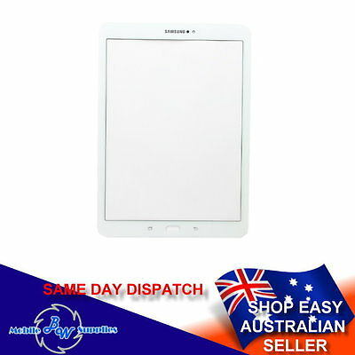 Original White Front Glass Screen for Samsung Galaxy Tab S2 9.7 SM-T810 T815