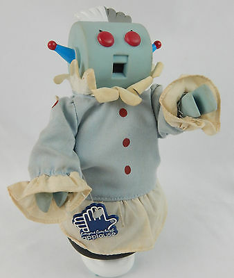 "The Jetsons Movie ROSIE the ROBOT 9"" Vinyl Figure 1990 Posable Arms"