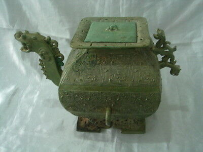 Authentic Chinese Ancient bronze Container