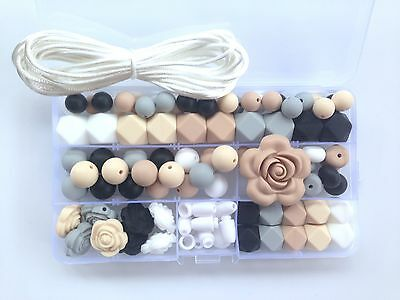 Silicone Necklace Kit, DIY Silicone Teething/Sensory Necklace Kit