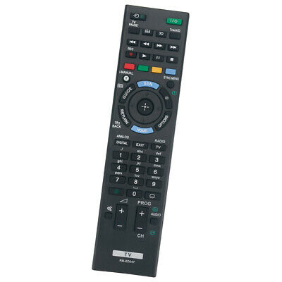 New Replacement Remote Control For Sony TV RM-ED047 KDL-32BX421 KDL-40BX420
