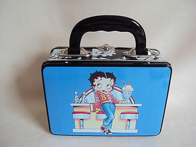 Collectible 1996 Betty Boop Lunch Tin Box