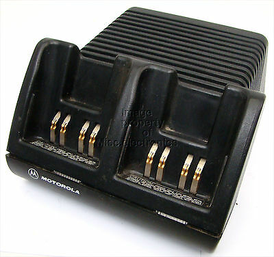 Motorola VISAR Dual Rapid Rate Charger AA16742 Battery Charger EE