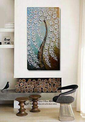Blossom Tree Stretched Canvas Print Framed Wall Art Home Decor Painting Gift DIY