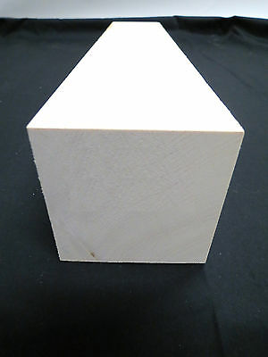 *Premium* American Holly Turning Square Lathe Blank lumber white wood, KD 1-3/4""