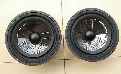 pair vienna-acoustics Bach Grand 7 inch crystal x3p cone midbass woofer K.O seas