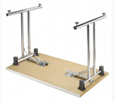 Pair of Folding Table Frame Legs, ideal Table for Office, Card or Gaming & Exam