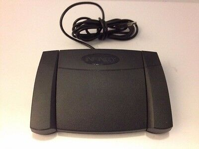 INFINITY USB Foot Control IN-USB-2 Transcription Dictation - Lightly Used w/ Box