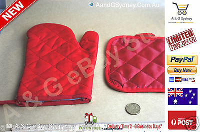 Pot Holders w/Pocket ~ Set of 2 ~ Potholders, Oven Mitts, Heat-resistant