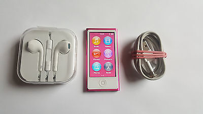 Apple iPod Nano 7th Gen Grey (16GB) with Accessories