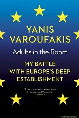 Adults in the Room Yanis Varoufakis Hardback New Book Free UK Delivery