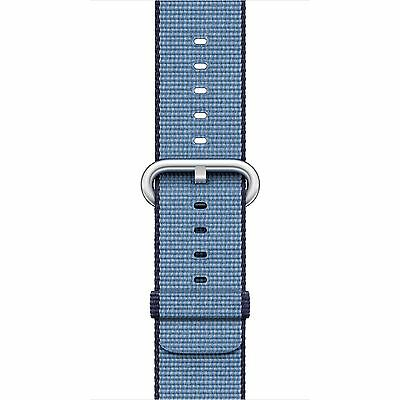 Apple Watch Woven Nylon Band (38mm, Navy/Tahoe Blue) BRAND NEW- SEALED