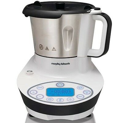 Morphy Richards 562000 Supreme 10 in 1 Multi Cooker White Chop Blend Steam Stew