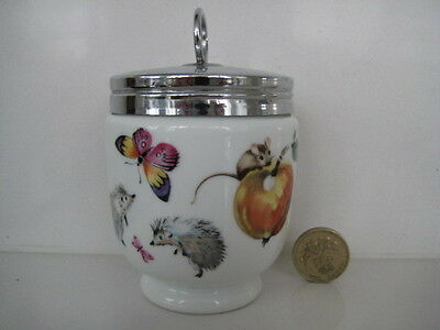 Rare  Earlier Mark Royal Worcester King Size Egg Coddler  A Skippety Tale