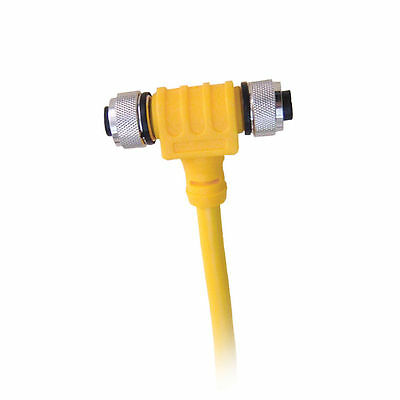Maretron CF-SPWR05-CF NMEA2K Micro Powertap Tee 5M Power Drop Bottom Female L/R