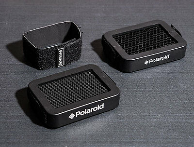 2x Polaroid Portable Honeycomb Grid Filter for Canon Nikon Godox Speedlite Flash