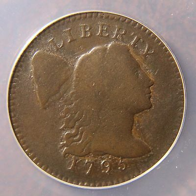 1795 Capped Liberty Large Cent, S-74, R-4, Lettered Edge, VG-8
