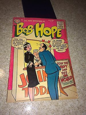 Adventures of Bob Hope #34. original owner, no restoration, 4.0 grade