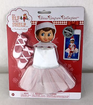 Elf on the Shelf Claus Couture Pink Twinkle Toes Tutu Ballerina Clothing NEW