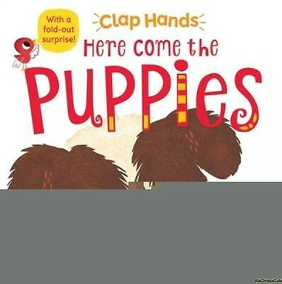 Here Come the Puppies Pat-a-Cake Hilli Kushnir Board book New Book Free UK Deliv