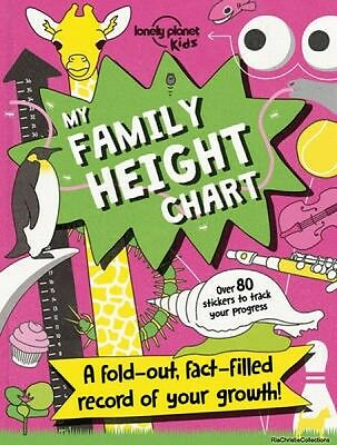 My Family Height Chart Lonely Planet Kids Paperback New Book Free UK Delivery