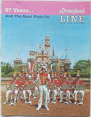 Rare July 1982 Disneyland Line Cast Member Newsletter Opening Day Memories