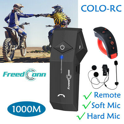 BT V8 1200M Bluetooth Motorcycle Intercom 5Riders Group Communication FM Headset