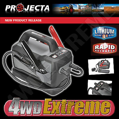 Projecta Lithium Jump Starter 1500A 12 Volt Diesel & Petrol 6L Powerful Is1500