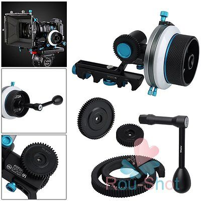 FOTGA Upgrade DP500III Quick Release Dampen Follow Focus A/B Hard Stop + Handle