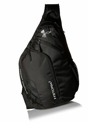 UNDER ARMOUR COMPEL Sling 2.0 Backpack Black (001) Graphite One Size ... 7a8bf5d7675db