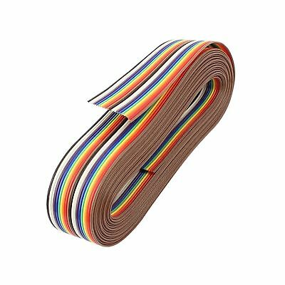 uxcell® 3.66M 20Pin Rainbow Color Flat Ribbon Cable IDC Wire for Arduino