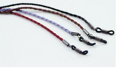 Colorful PULeather Glasses Eyeglass Cord Holder Necklace Chain Strap 70cm bien
