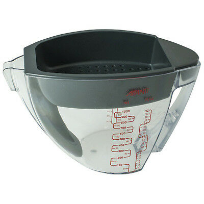 AVANTI Fat Separator Jug 1000ml Measuring Cup Deep Strainer Gravy! RRP $43.95!