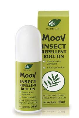 Ego Moov 10053 Insect Repellent Roll On Deet Free 50ml Each