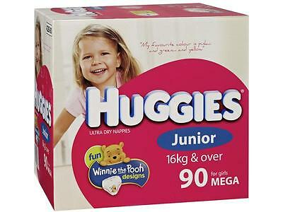 42283 Nappy Huggies Junior Girl Cs90