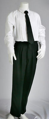 New Black Formal School Slacks Trousers Pants for Toddler/Teen/Boys Size 000-16